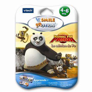 JEU CONSOLE ÉDUCATIVE Jeu V.Smile Motion Kung Fu Panda