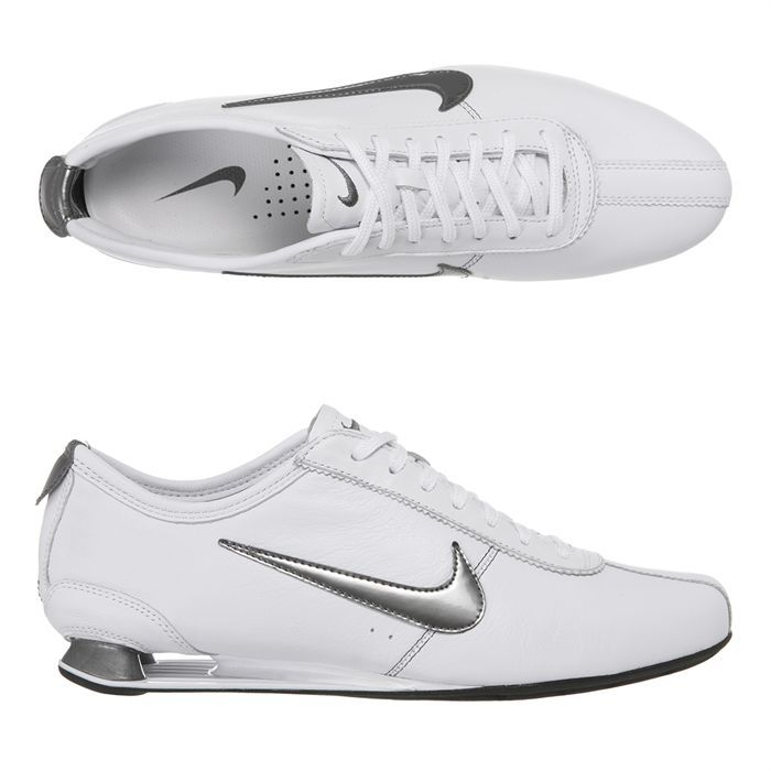 chaussure nike shox rivalry blanc