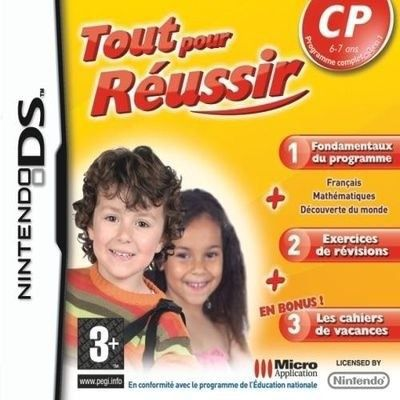 TOUT POUR REUSSIR CP / JEU CONSOLE NINTENDO DS