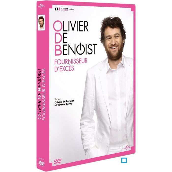 dvd olivier de benoist fournisseur d 39 exc s en dvd film pas cher cdiscount. Black Bedroom Furniture Sets. Home Design Ideas