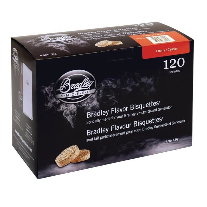 Pack Bradley Cherry Bisquettes 120