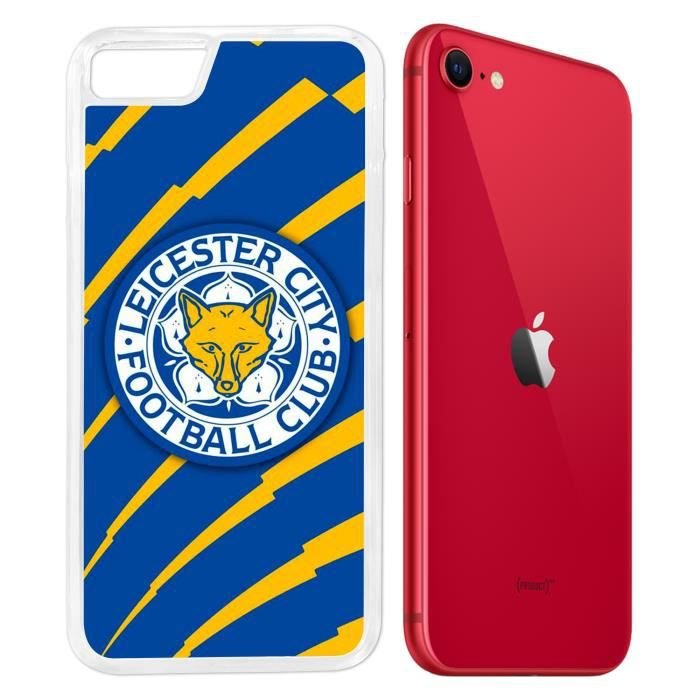 Coque iPhone SE 2020 - Leicester city Football. Accessoire telephone
