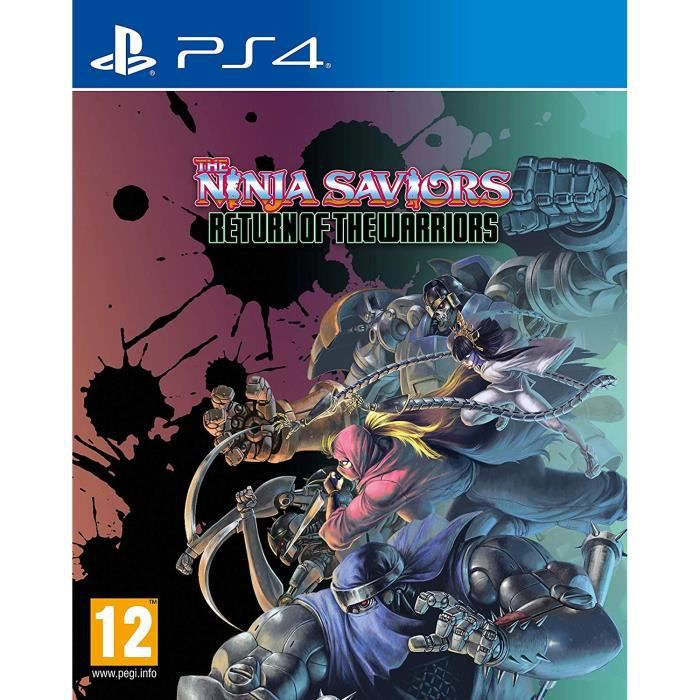 The Ninja Saviors Return of The Warriors Jeu PS4