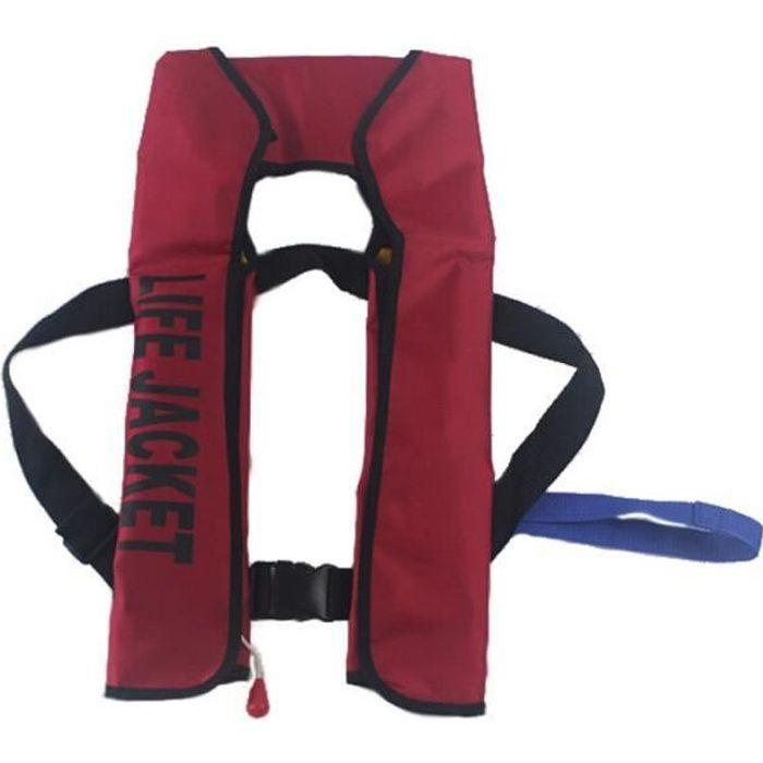 Veste de sauvetage gonflable automatique, gilet de sauvetage professionnel pour la pêche, le kayak, la natation [951EA39]