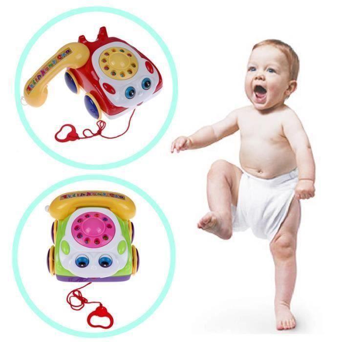 les enfants musique téléphone jouet basics téléphone de jouets. la couleur des la12044