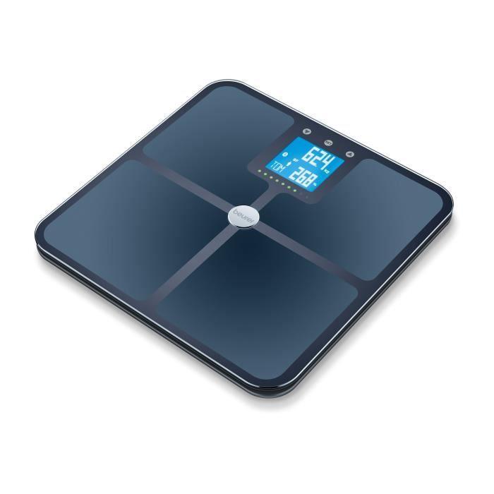 BEURER BF 950 Noir - Impédancemètre connecté - Calcul l'IMC, le taux de muscle et la masse osseuse