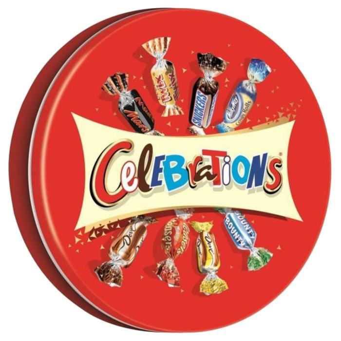 MARS Bonbons assortis Célébrations en boîte métal - 435 g