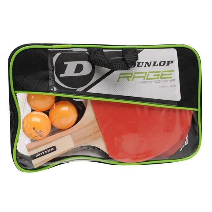 Raquettes de ping pong Raquettes de ping pong Dunlop Set Rage Championship