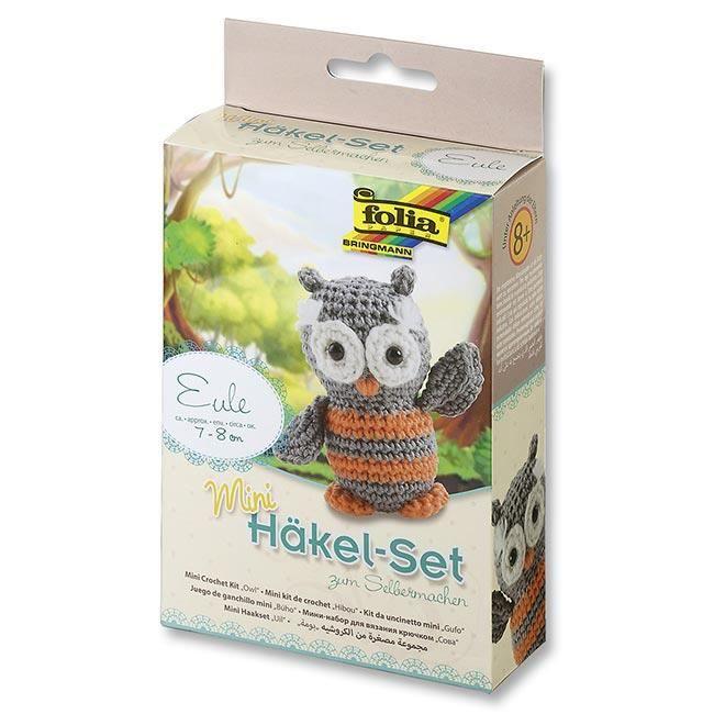 Mini kit de crochet Hibou