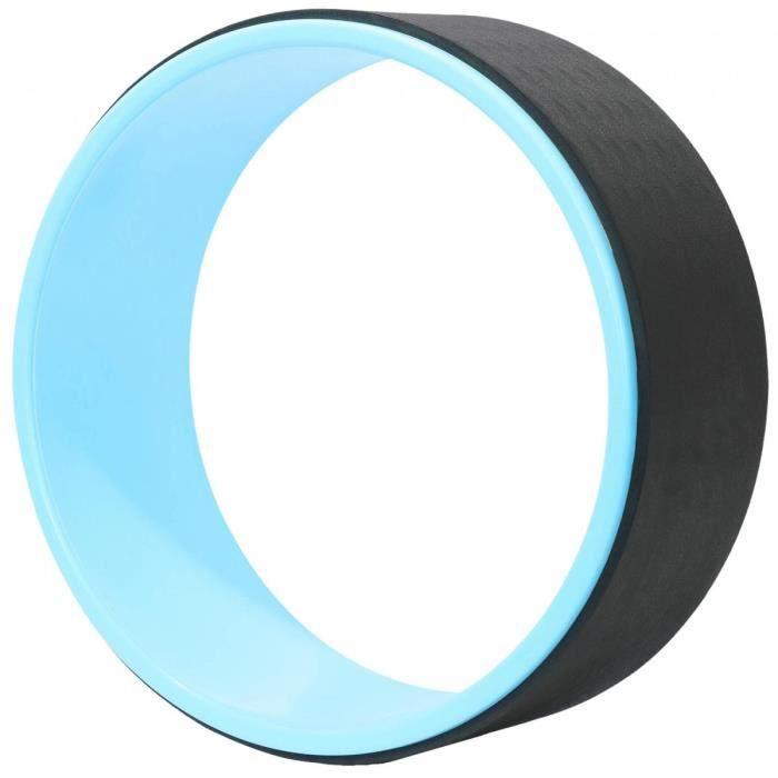Roue de Yoga et pilates - diamètre 32,5cm Yoga wheel Gorilla Sports - Bleu