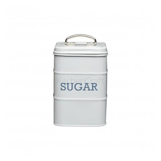 Boite à sucre acier gris KitchenCraft