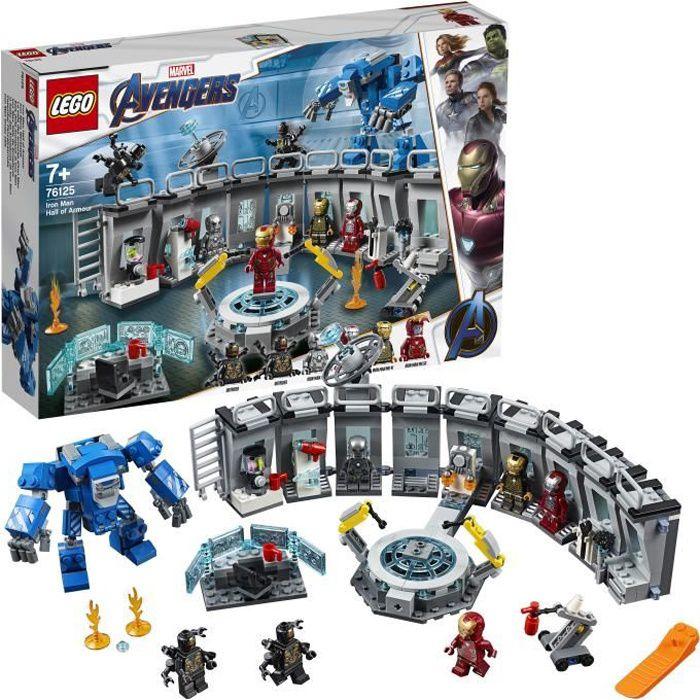 LEGO® Marvel Super Heroes 76125 -La salle des armures d'Iron Man - Jeu de construction