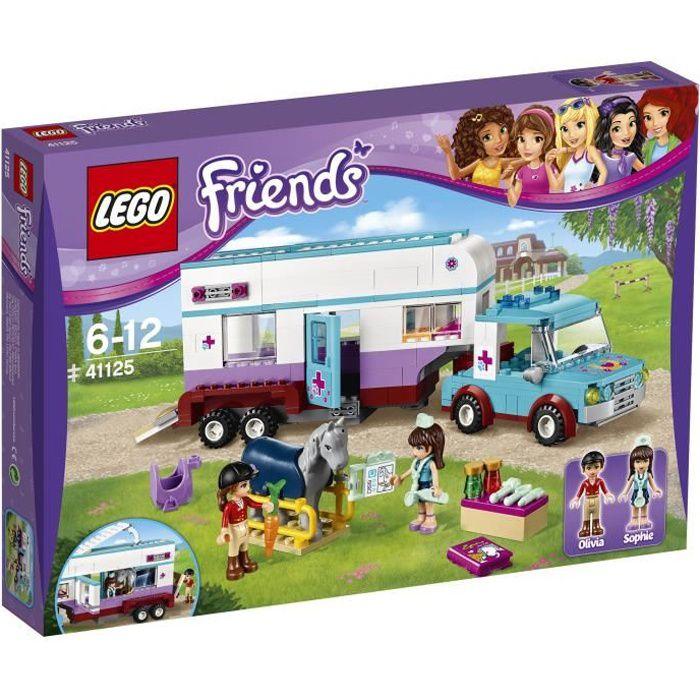 LEGO® Friends 41125 La Remorque à Chevaux du Vétérinaire