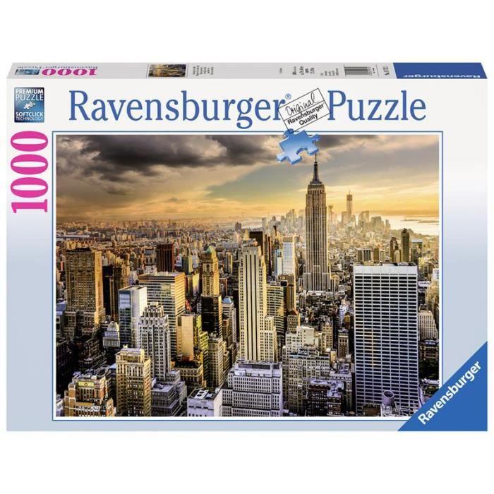 Puzzle Magnifique Ville de New-York 1000 pcs