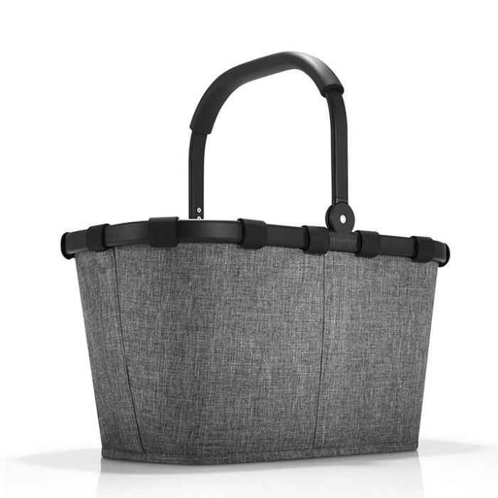 Panier à provisions Carrybag 48 cm Twist silver 29 TWIST SILVER