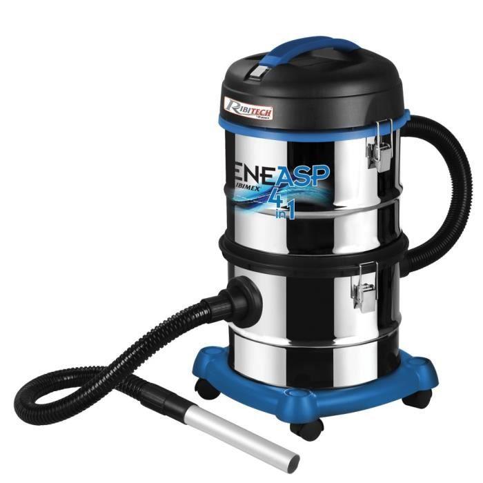 Aspirateur cendre liquide 30 L électrique 4 en 1 CeneAsp