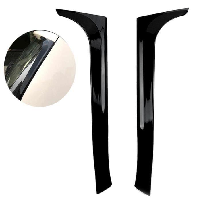 Aile LatéRale ArrièRe Noir Brillant Autocollants de Spoiler Garniture pour VW Golf 6 MK6 2008-2013 Pas pour Golf 6 GTI - R