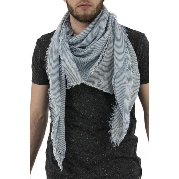 foulards tommy hilfiger dm0dm02206 bleu
