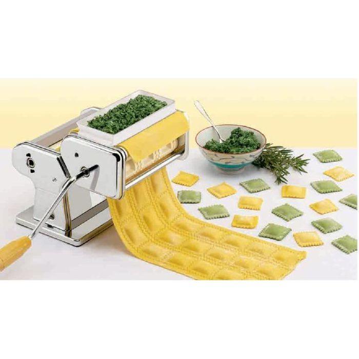 MACHINE À PÂTES Rang de 3 raviolis pour machine à pâte atlas Marca