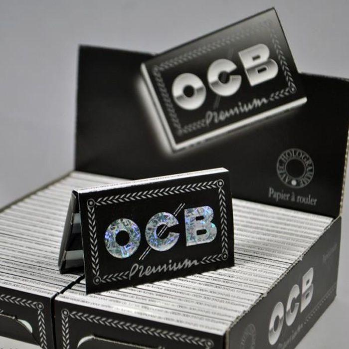 OCB courtes doubles X-pert blue 1 boite de 25 carnets de 100 feuilles à rouler