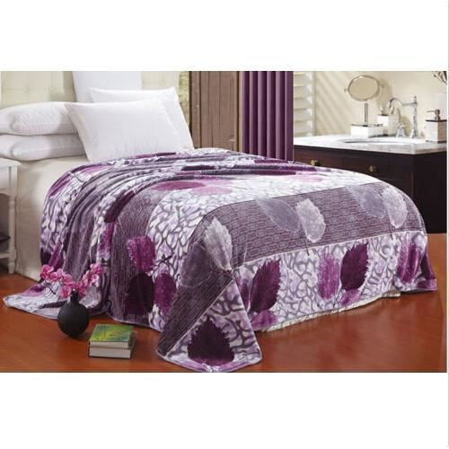 super doux chaud molleton flanelle drap de lit climatisation roi reine violet achat vente. Black Bedroom Furniture Sets. Home Design Ideas
