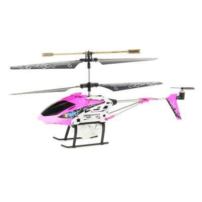 H licopt re rose pour filles canon bulles achat for Helicoptere interieur