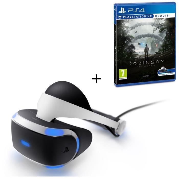 playstation vr robinson vr achat vente casque r alit virtuelle pack playstation vr. Black Bedroom Furniture Sets. Home Design Ideas