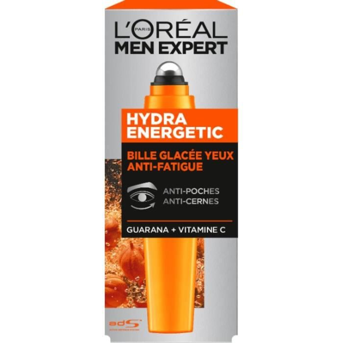 HYDRATANT VISAGE L'Oréal Men Expert Hydra Energetic Roll-On Yeux -