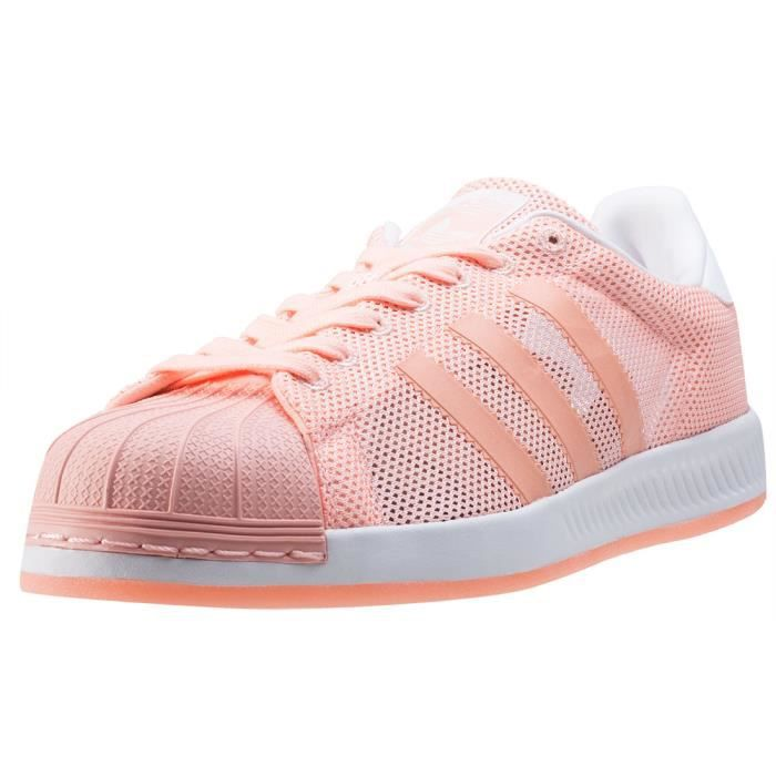 adidas Superstar Bounce Hommes Baskets Coral - 9 UK