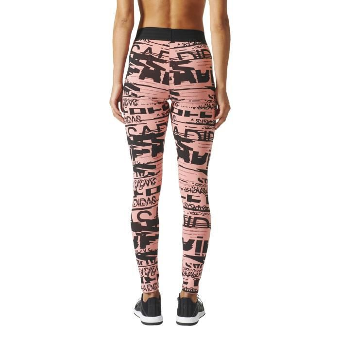 new products 451a0 1b022 Tight femme adidas Sport ID Allover Print