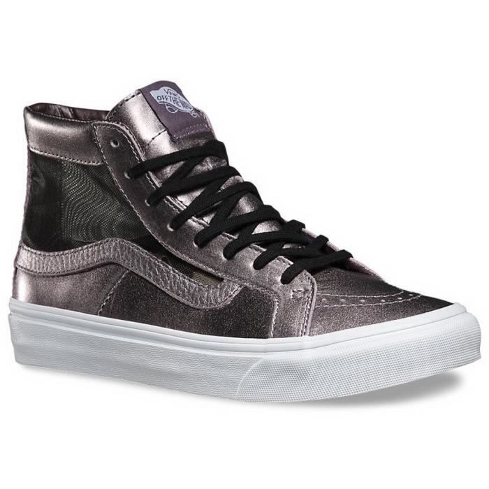 Slim Femme Hi Chaussure Maillot Vans Qk7ti Sk8 Sneaker Découpe 6If7gvybY