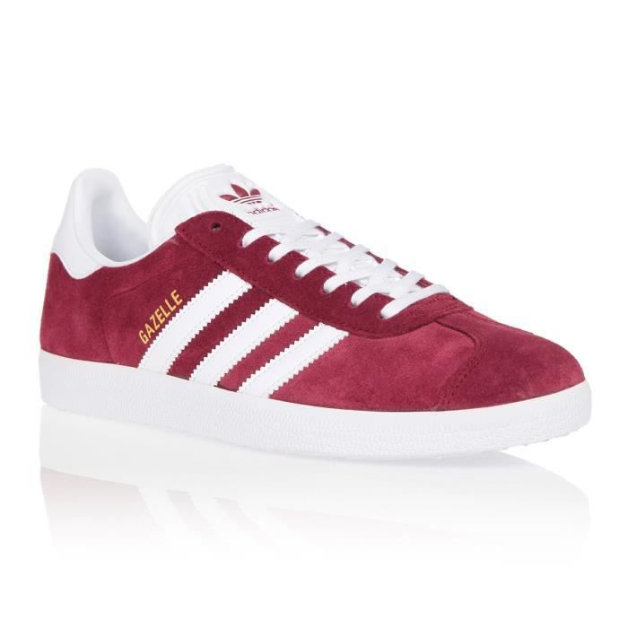 ADIDAS ORIGINALS Baskets Gazelle Homme - Bordeaux