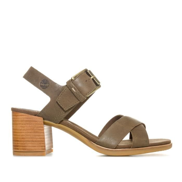Sandales Cross Tallulah Olive Timberland May Femme Band QrdExeoWCB