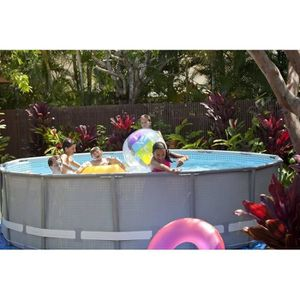Piscine intex 4m achat vente piscine intex 4m pas cher for Piscine intex ultra frame 4 88x1 22