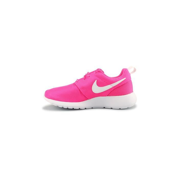 Basket Nike Roshe One Junior Rose 599729-611