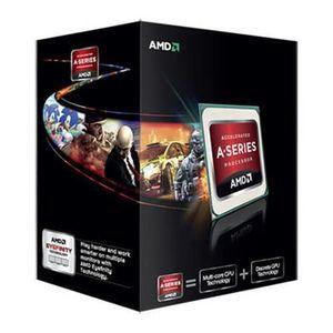 PROCESSEUR AMD A series A6-7400K black, AMD A6, 3,5 GHz, Sock