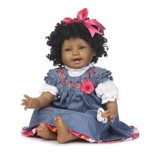 POUPÉE Bébé poupée renaître 55cm nouveau-né poupée enfant