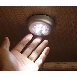 LAMPE A POSER 3pcs Lampe de chevet Lampes Spots LED Touche à pil