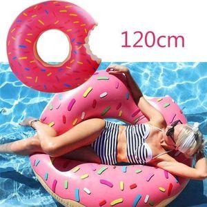 JEUX DE PISCINE Bouée Donut Gonflable 120cm 2016 Nouveau Super Gra