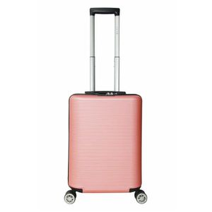 VALISE - BAGAGE LYS - Valise Cabine mixte Rose gold 55x38x20cm 4 R