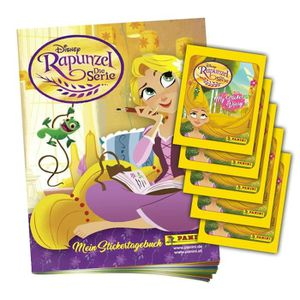Panini Disney Rapunzel la série album de scrapbooking 25 pochettes album