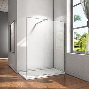 PORTE DE DOUCHE 160x200cm Paroi de douche, paroi fixe, transparent
