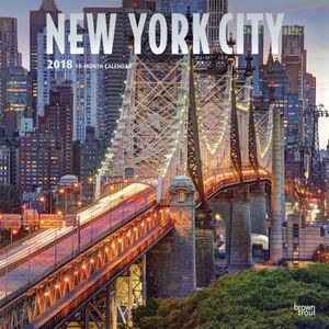 Calendrier City.Calendrier 2018 New York City Achat Vente Calendrier