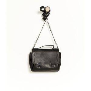 CARTABLE Camaïeu - Mini sac cartable femme - NOIR - T.U