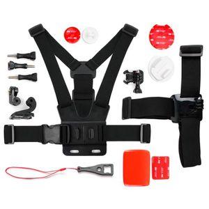 PACK HARNAIS - BANDEAU Kit complet d'accessoires pour GoPro 1, 2, 3, 3+ H