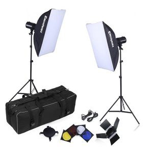 LAMPE ESCLAVE - FLASH Excelvan Kit Eclairage Continu Studio Photo + 2*16