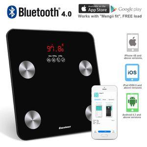 PÈSE-PERSONNE Excelvan Balance Pèse Personne Bluetooth Haute Pré