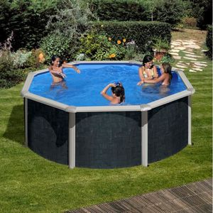 piscine hors sol ronde 3 50 achat vente piscine hors sol ronde 3 50 pas cher cdiscount. Black Bedroom Furniture Sets. Home Design Ideas