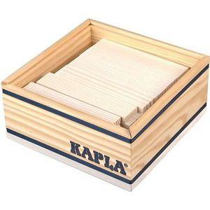 ASSEMBLAGE CONSTRUCTION KAPLA Coffret Bois 40 Planchettes - Blanc