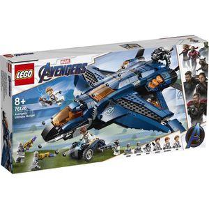 ASSEMBLAGE CONSTRUCTION LEGO® Marvel Super Heroes 76126 - Le Quinjet des A
